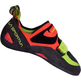 La Sportiva Kubo Climbing Shoes Men goji/neon